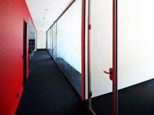 نظم تقسيم مكتب الزجاج 1