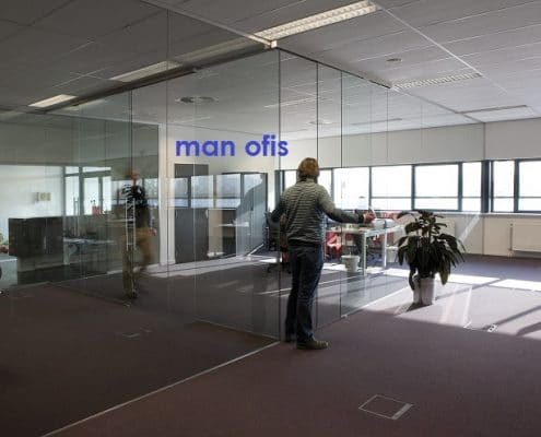مكتب رجل ، قسم
