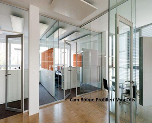 F400 الزجاج التقسيم ملامح مكتب رجل