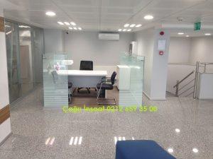مكتب رجل F600 ، جدار فاصل قصير