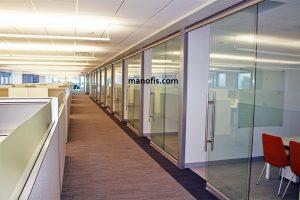 ميزات قسم مكتب الزجاج