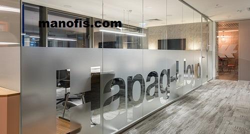 تصميم المكاتب الزجاجية