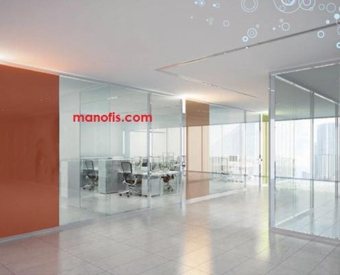 نماذج مكتب الزجاج